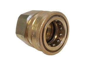 Snaptite H Series Plain Coupler Brass Quick Fittings