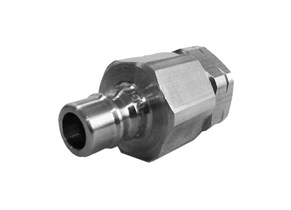 Snaptite H Series Valved Nipple Steel Quick Fittings
