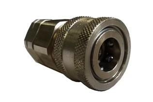 Snaptite H Series Valved Coupler Steel Quick Fittings