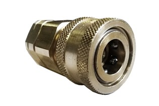 Snaptite H Series Valved Coupler Stainless Steel Quick Fittings