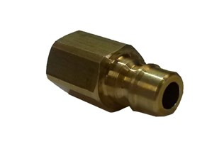 Snaptite H Series Plain Nipple Brass Quick Fittings