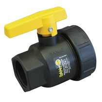 Banjo Ball Valve Full Port Polypropylene