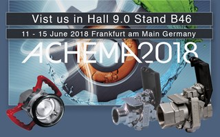 Achema Show 2018 Todo Dry Break & DryLink Dry Disconnects