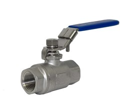 Stainless Steel Ball Valve 2 Piece 2PC