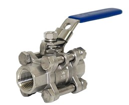Stainless Steel Ball Valve 3 Piece 3PC