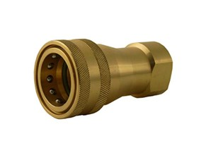 Quick Disconnect ASL QuickBreak ISOB Socket Brass