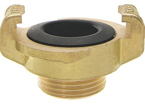 Geka Fittings Brass Male Geka Coupling GKM150-BR