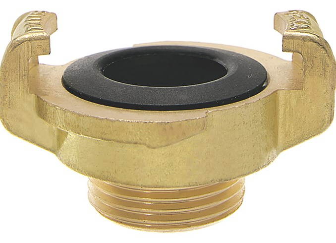 Brass Quick Connect Water Fittings Claw Couplings Tap Connectors For Geka